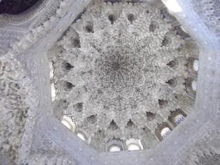 アルハンブラ宮殿天井DSCF0474.JPG
