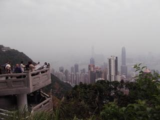 香港 ビクトリア・ピークより  クルーズツアー香港・神戸2012 066.JPG