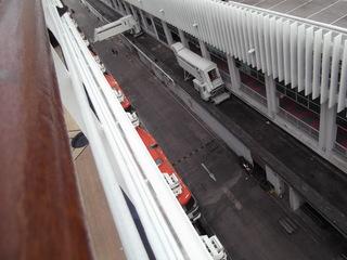 ザーンダム号接岸  クルーズツアー香港・神戸2012 083.JPG